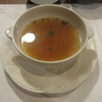 ステーキハウス小坂 - オニオンスープ
