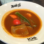 ichimarurokusausuindhian - <私注文>ベンガルカレー(エビと野菜のトマト風カレー)