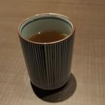 ゆず庵 - お茶(2019.11.22)