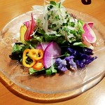 炭火焼きステーキ灰屋 - サラダ 1500円別