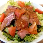 京橋 ビーフスタイル あか里 - ローストビーフサラダ丼♪