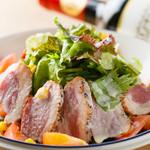ブルックリン食堂 - 合鴨のシーザーサラダ