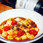 ブルックリン食堂 - トマトの麻婆豆腐