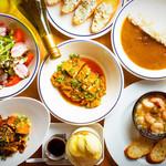 ブルックリン食堂 - BROOKLYN SHOKUDOの人気メニューばかりを集めたコース!これを食べずにブルックリン食堂は語れない!