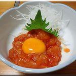 彩鶏 - ユッケ(肉)