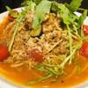 ビストロ グルナッシュ - 料理写真:牛挽肉ときのこのラグーソースのパスタ
