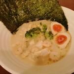 濃厚鶏麺 ゆきかげ - 濃厚海老出汁鶏そば 1000円