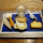 川畑 - デザートの盛合せ
