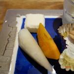 川畑 - マシュマロ、果物