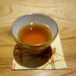 川畑 - 〆のほうじ茶