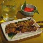 居酒屋 往来 - 日本酒と焼き鳥とお通しの辛子明太子