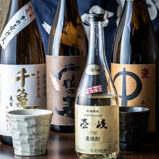 【108種類以上の九州地酒】九州の地酒と焼酎を豊富にご用意