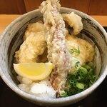 さぬき麺道 - 鶏天ぶっかけ