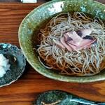 蕎麦 みづ乃 - 田舎蕎麦の冷かけ