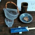 蕎麦 みづ乃 - 地酒 三千盛大吟醸