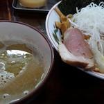 麺処 むら井 - 特製サヴァつけ麺