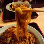 すたみならーめん えむず - 麺(2012.3月)