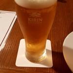 イル・ポジターノ - 生ビール