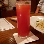 イル・ポジターノ - イタリアンボルケーノ(ビール・トマトジュース)