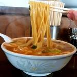 チャイナタウン - チャイナタウン@秋田 みそチャンポン 麺リフト