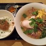 大岡山のベトナム料理 ハノイのホイさん - ブンタン + ミニ屋台丼