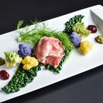 暁タップス - 北上・高橋農園の彩り野菜と生ハム
