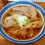 120296062 - 中華そば 琴の@鶴岡 太麺中華そば・アッサリ(700円)