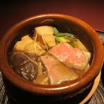 赤坂 渡なべ - 宮崎牛と茸小鍋仕立て