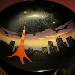 赤坂 渡なべ - 塗り椀の絵柄