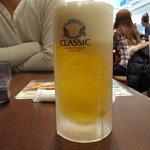 ホエー豚亭 - ビール(北海道クラッシック)