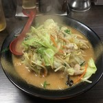 ラーメン仙花 - 味噌タンメン