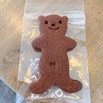 ラヴィサンカフェ - くまクッキー ココア