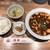 珉珉 - 麻婆豆腐セット ライス・スープ・ザーサイ付き 825円(税込)