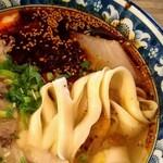 120308411 - 麺は寛麺。
