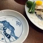 信濃屋 - 天然とらふぐ刺 ミニ刺¥3300-