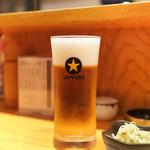 鳥九 - ビール