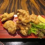 120318580 - 「鶏もも肉の唐揚げ御膳」(1,080円)