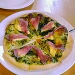イタリア家庭料理 三春 ラ・ベリータ - 生ハムとクリームチーズのピザ
