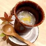 昇六 - 茶碗蒸し 蕪のすり流し
