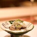 鮨 きよし - 牡蠣のコンフィ