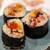 うを徳 - 料理写真:2019.11 これで勘弁太巻き(ウニ、イクラ、アンキモ、カラスミ、タコ、大トロ、ブリ、サバ)