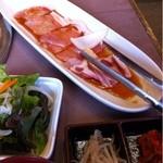 焼肉吾妻 -  焼肉定食 ロース