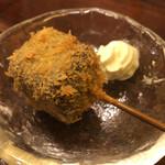 串あげ 上々 - デザート串:ガトーショコラ