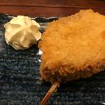 串あげ 上々 - デザート串:バームクーヘン