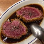 Yorgo - 牛ヒレ肉のレアカツ