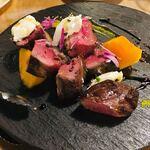 120338505 - 鴨ロース肉の炭火焼き