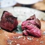 やまぐち - 牛ヒレ肉のロースト