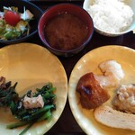 ぼんぼり - 料理写真:私の昼食 783円(税込)