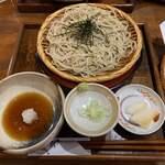 なめとこ山庵 - 料理写真:旬菜天ざる(1700円)のそば