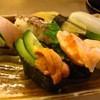廻鮮 わくわく - 料理写真:にぎりセット\700のお寿司 バムセ7選